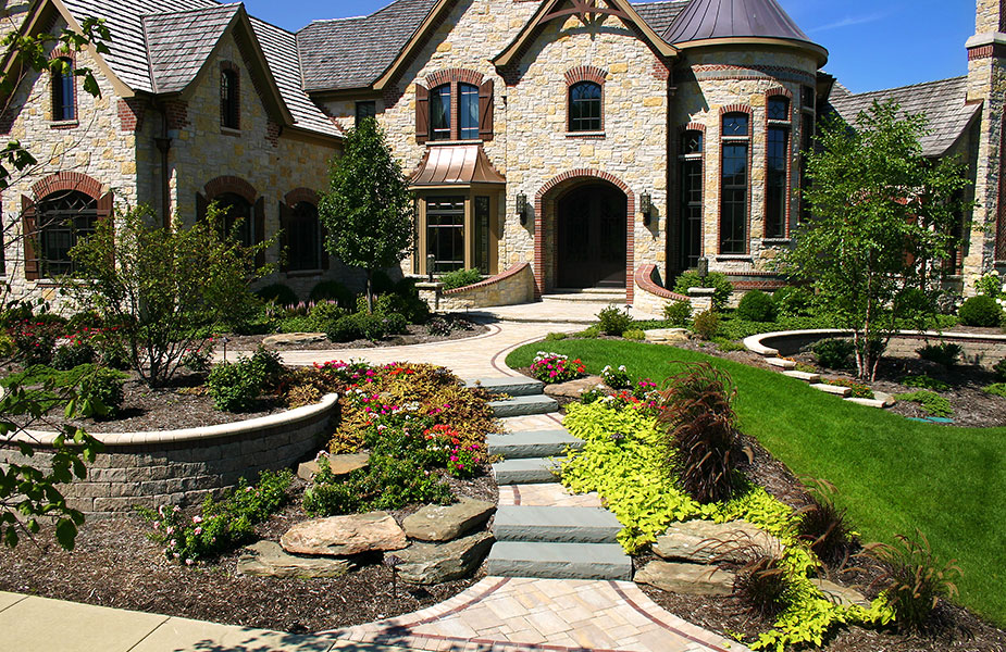 Chicago landscape design installation services for Landscape design chicago