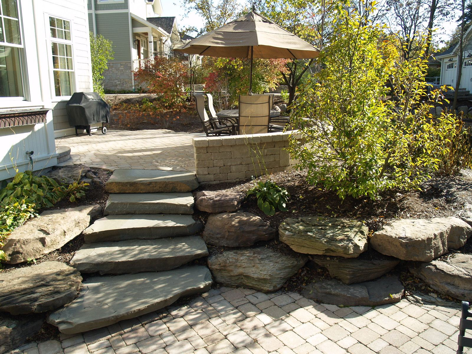 important things to consider when selecting landscaping steps