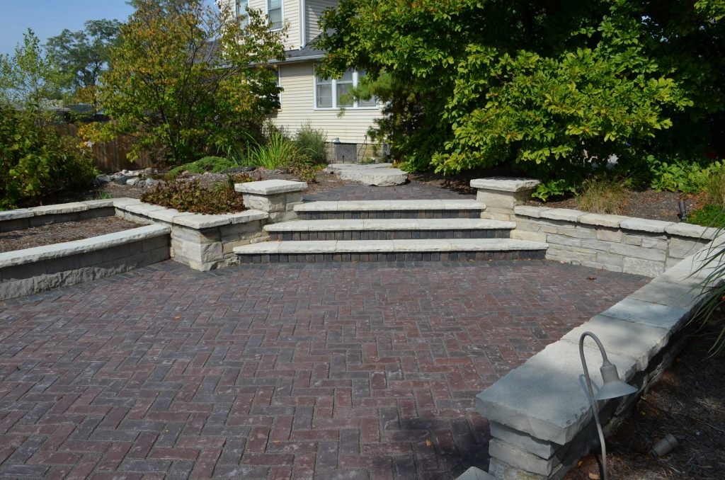 lombard hardscape display